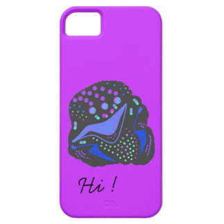 iPhone case abstract design.