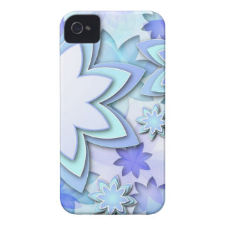 iPhone Case abstract lotus flowers