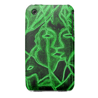 iphone case Abstract Lovers iPhone 3 Cover