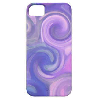 iphone case - abstract purple swirls iPhone 5 cover