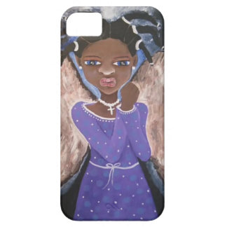 Iphone Case - African American Black Art Angel