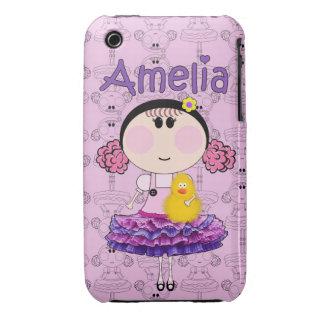 Iphone Case Amelia iPhone 3 Case