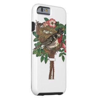 iphone case-Bird in nest Tough iPhone 6 Case