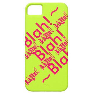 IPhone Case Blah Blah Blah iPhone 5/5S Case