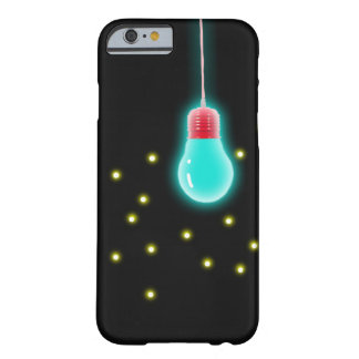 Iphone case blue lightbulb