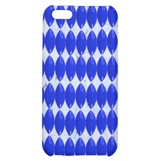 iPhone Case- Blue Pattern Cover For iPhone 5C