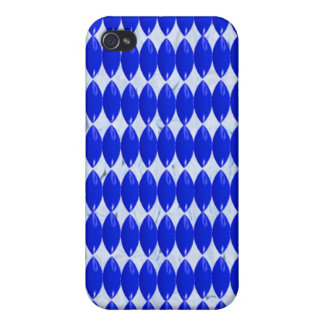iPhone Case- Blue Pattern iPhone 4/4S Cover