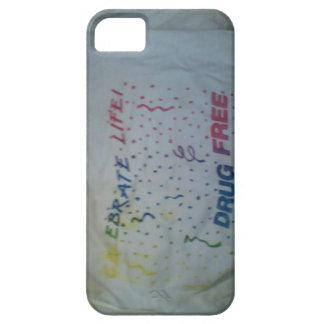 Iphone case celebrate life drug free