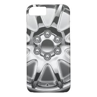 Iphone case chromed rim.