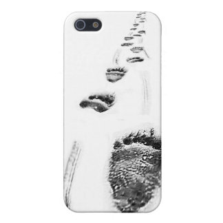Iphone Case Climate Change Polar Bear Footprints iPhone 5 Case