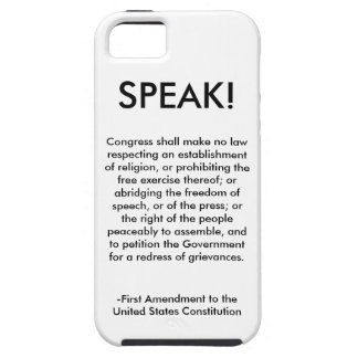 iPhone Case - First Amendment
