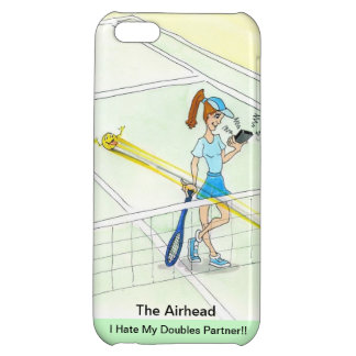 iPhone case for tennis doubles player - Airhead iPhone 5C Cover