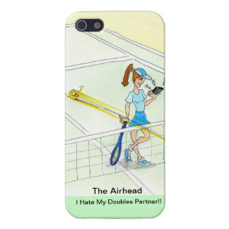 iPhone case for tennis doubles player - Airhead Cases For iPhone 5