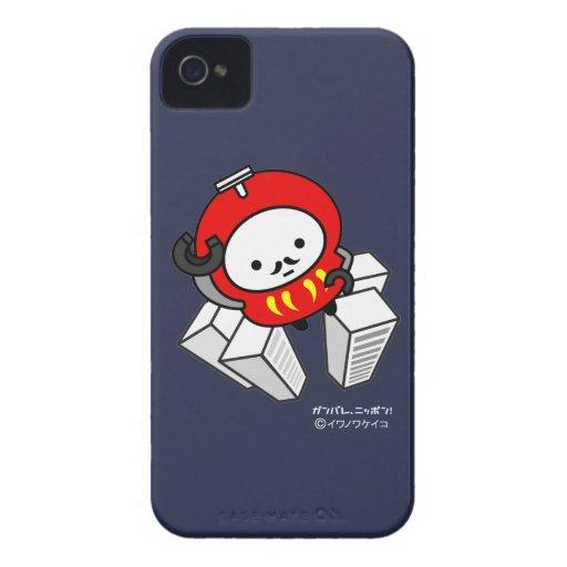 iPhone Case - GO! Daruma Robot!! iPhone 4 Covers