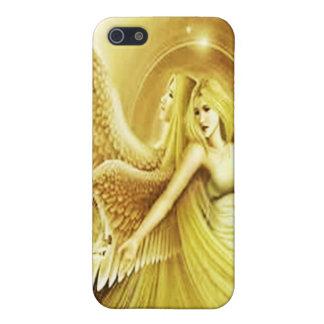 Iphone case  golden angels.