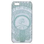 iPhone case hamsa om zen lotus hippie drawing iPhone 5C Covers