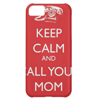 iphone case, keep calm and call you mom case for iPhone 5C