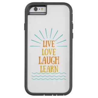 iphone case (live, love, laugh, learn)
