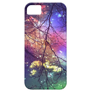 """iphone case """"look to the stars"""" night, sky, trees"""