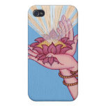 iPHONE CASE - Lotus blessings iPhone 4 Case