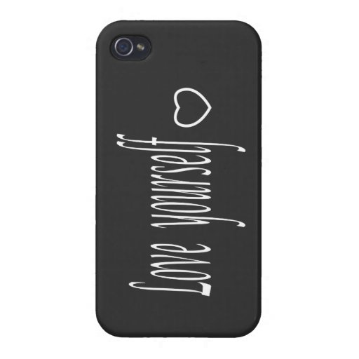 iPhone Case-love yourself Case For iPhone 4