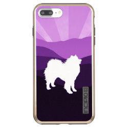 Incipio DualPro Shine iPhone 7 Plus Case with Samoyed Phone Cases design