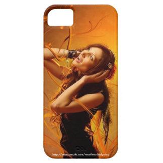 iphone case - music girl customizable