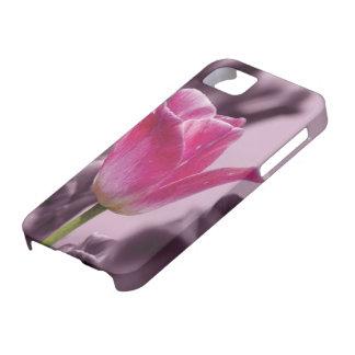 iPhone Case Pink Tulip