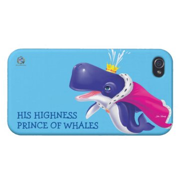 iPhone Case PRINCE OF WHALES
