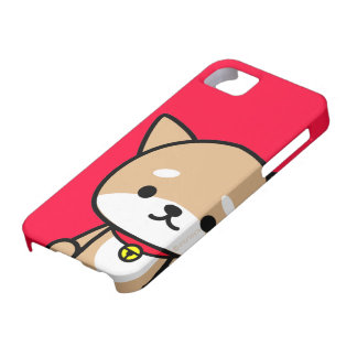 iPhone Case - Puppy - Red iPhone 5 Cases