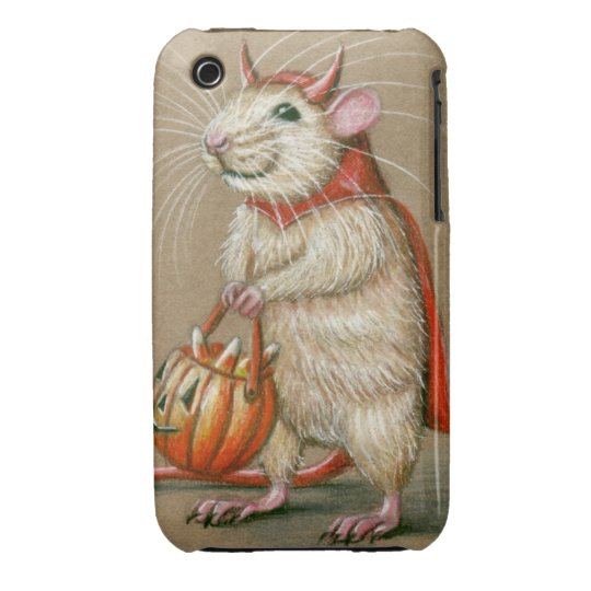 iPhone case rat devil halloween cape
