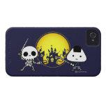 iPhone Case - RiceBall Samurai VS Skeleton iPhone 4 Case