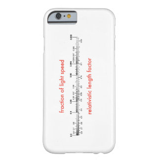 iPhone case showing relativity or length