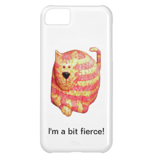 iPhone Case - Striped Wooden Cat