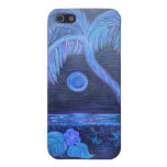 iPhone case -Tropical Moonlight iPhone 5 Cover