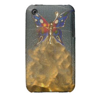 iPhone Case - Turbo Butterfly Fantasy Design Case-Mate iPhone 3 Case