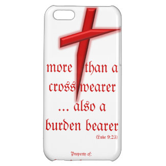 iPhone Case w Contemporary Red Cross