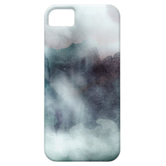 iPhone Case Watercolors Teals and Blues
