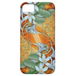iPhone case White Orchids on vintage background iPhone 5 Case