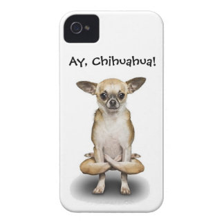 iPhone case with Chihuahua