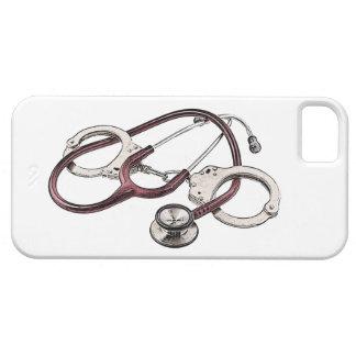 IPhone case with Correctional Nurse logo
