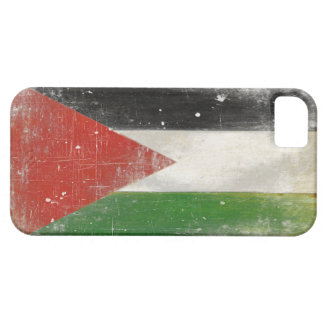 iPhone Case with Distressed Flag from Palestine