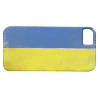 iPhone Case with Distressed Ukrainian Flag