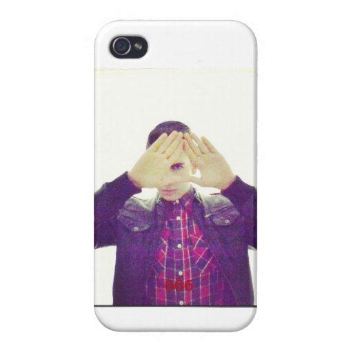Iphone Case with Illuminati Sign and 666. iPhone 4/4S Fundas