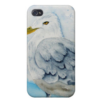 iPhone case with Jersey Shore Seagull Cover For iPhone 4