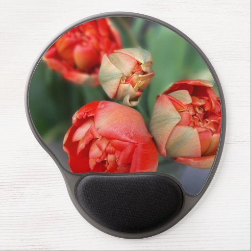 iPhone case with red plug Gel Mouse Pad