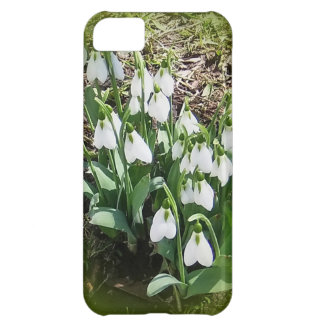 iPhone Case with Snowdrops