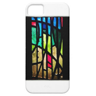 iPhone Case with stained glass back