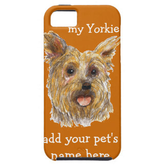 iPhone case with Yorkie