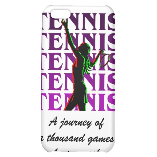 iPhone Case Women's Tennis 1 Purple Light or Dark Cover For iPhone 5C